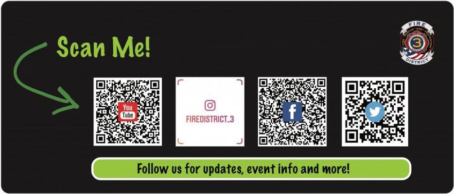 Social Media QR codes