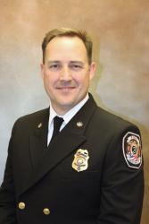Deputy Chief / Strategic Services Justin Bates